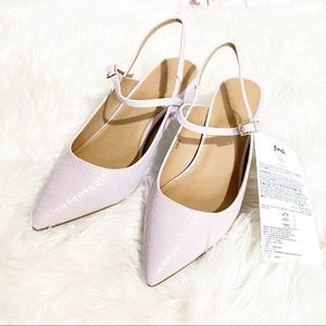 New Pale Purple Lilac Heels Size 8